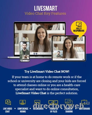 Скрипт онлайн видео-чата LiveSmart Video Chat v2.0.12